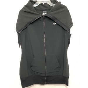 Womens Nike Sphere Sleek Training Vest Black sz L